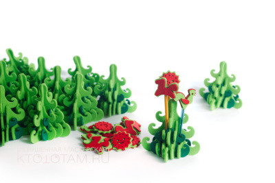 """настольный сувенир """"Елочка"""" с игрушками, елка карандашница, игрушки на карандаши"""