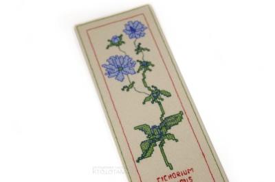закладка для книги из фетра с вышивкой крестиком