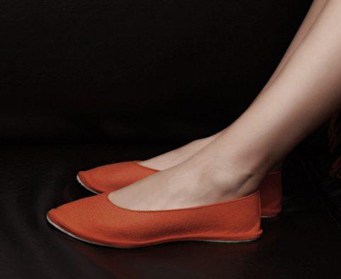 домашняя обувь из войлока, корпоративный сувенир
