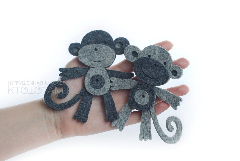 Новогодний сувенир обезьяна своими руками
