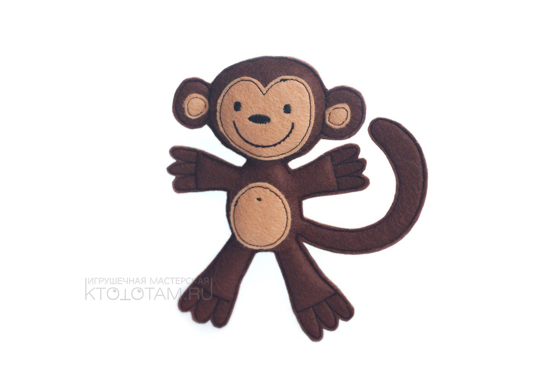 Елочная игрушка символ 2016 года своими руками
