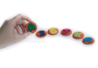 Закатные магниты с буквами, магнитная азбука на заказ, заказать закатные магниты, буквы из войлока, алфавит на заказ