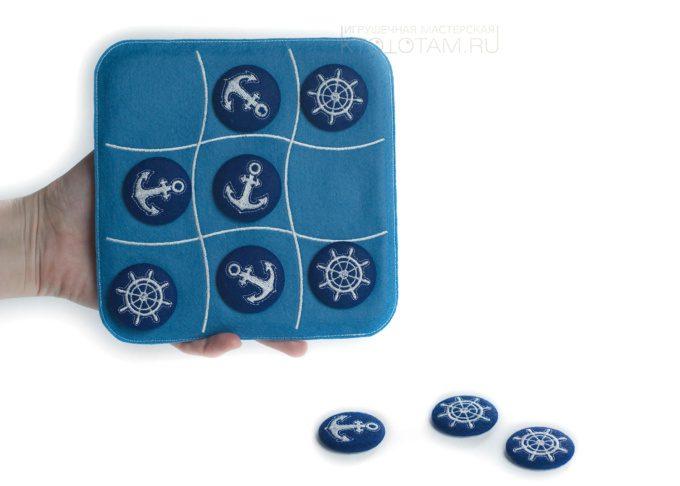 Игра на магнитах, магнитные игры, магнитные крестики-нолики, заказать магнитную игру, морские крестики нолики