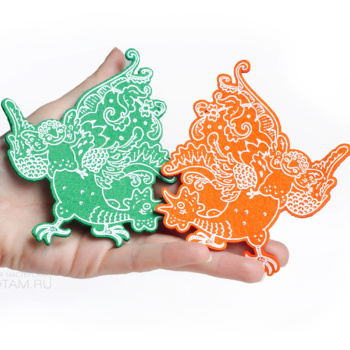 символ года купить оптом сувениры, сувениры с символом года оптом, производство сувениры символ года оптом из фетра
