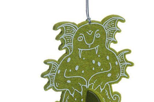 Водяной, авторские елочные игрушки из войлока, дизайн - Феликс Данкевич, производство - игрушечная мастерская Ктототам