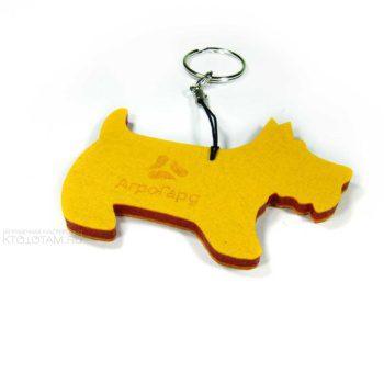 собачка из фетра сувенир символ года брелок, желтая собака сувенир, сувениры собаки оптом купить, сувениры в виде собаки, сувениры к году желтой земляной собаки , сувенир собака 2018