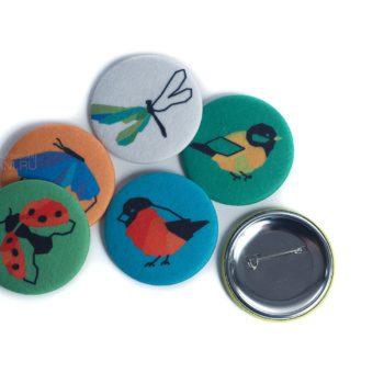 магнит из фетра, значок из фетра, промо сувенир с персонажем, маскоты промо сувенирка, сувениры для выставки, необычные сувениры на заказ