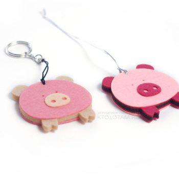 сувениры к году свиньи, год свиньи символы сувениры, сувениры свинья оптом, свинья сувенир из ткани