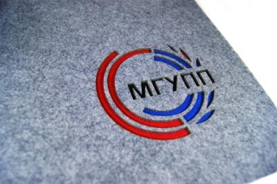 набор подставок из фетра для чаепития на стол, с логотипом