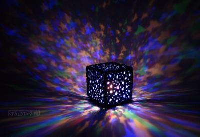 ночник кубик светодиодный из фетра корпоративный сувенир