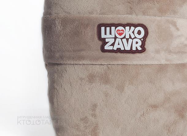 подушка из плюша персонаж маскот в виде корпоративного сувенира