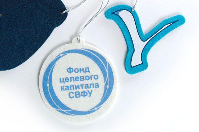 сувениры из войлока, игрушки с логотипом, журавль, шар, варежка из фетра