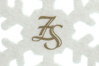 сувениры из войлока, игрушки с логотипом, снежинка из фетра