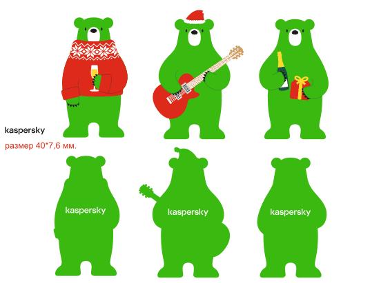 медведи игрушки из фетра на заказ по макету заказчика