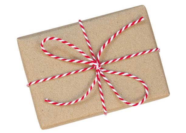 хенд мейд подарочная упаковка подарков на заказ крафтовая бумага и джут