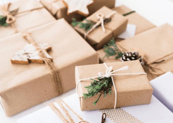 шишки украшения для упаковки подарков