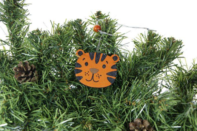 тигры промо сувениры символы года ёлочные игрушки с логотипом на заказ
